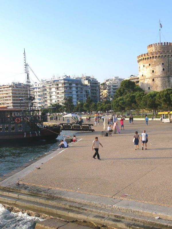 Thessaloniki boulevard