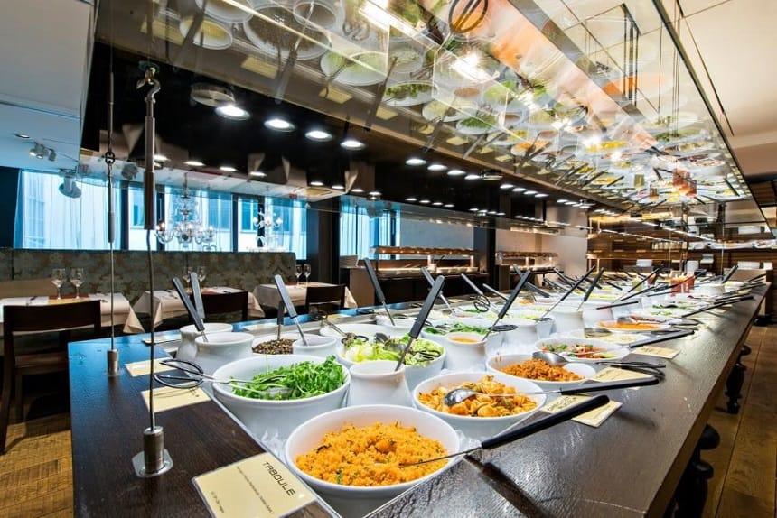Vegetarisch restaurant Hiltl