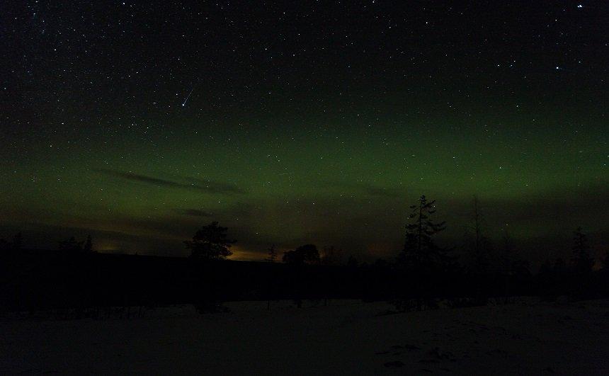 Noorderlicht op Kätkävaara