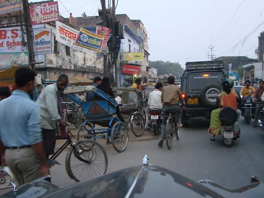 Kautilya Kon Road in Varanasi