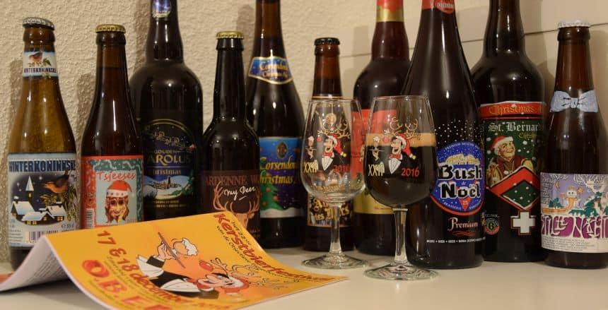 En een selectie van wat ik nu zoal aan kerstbieren heb staan thuis.