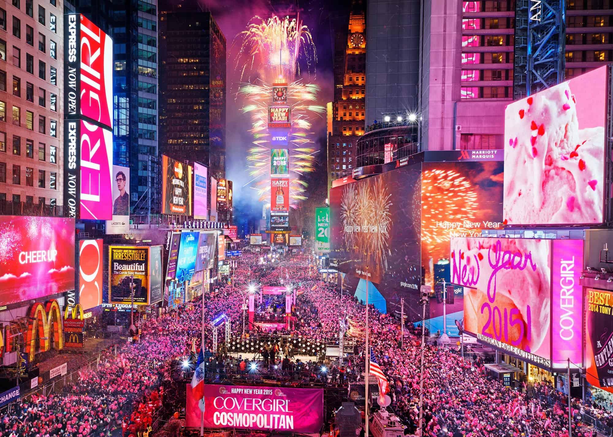Oud en Nieuw op Times Square