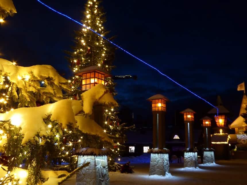 Stap de poolcirkel over in Santa Claus Village!