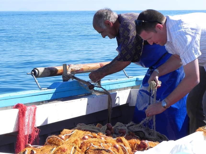 vissersbootje Cefalú