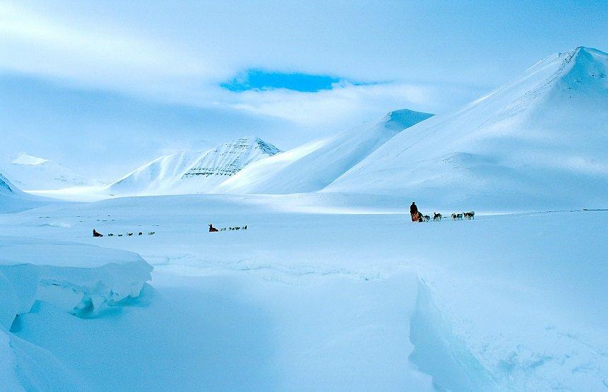Svalbard, de grootste arctische wildernis van Europa.