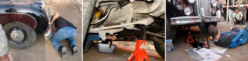 Auto repareren India
