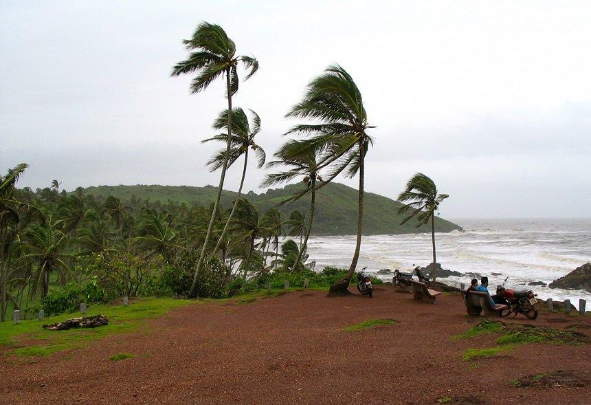 Moesson strand Goa