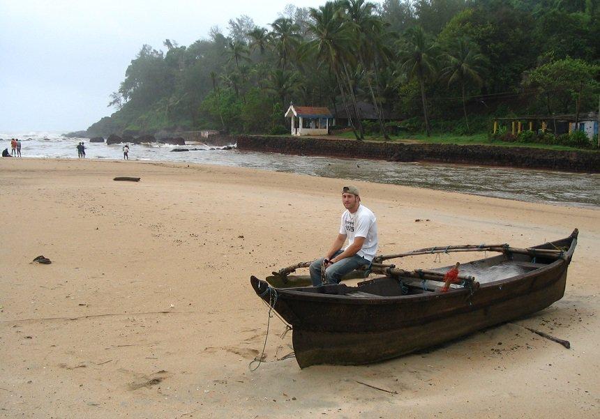 Open riool Indische Oceaan