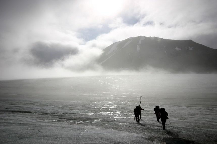 Spitsbergen is geen alledaagse winterbestemming.