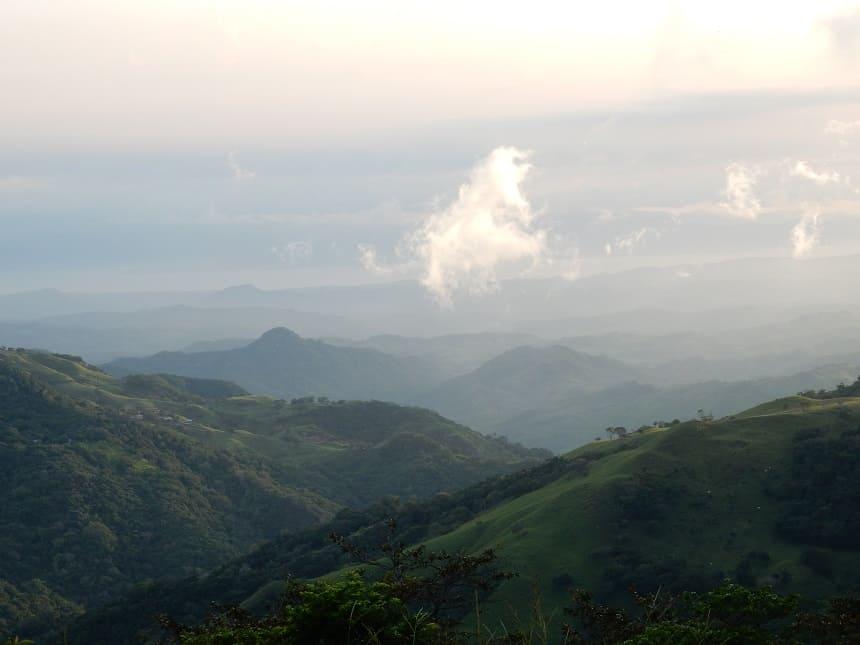 Nevelwouden in Costa Rica