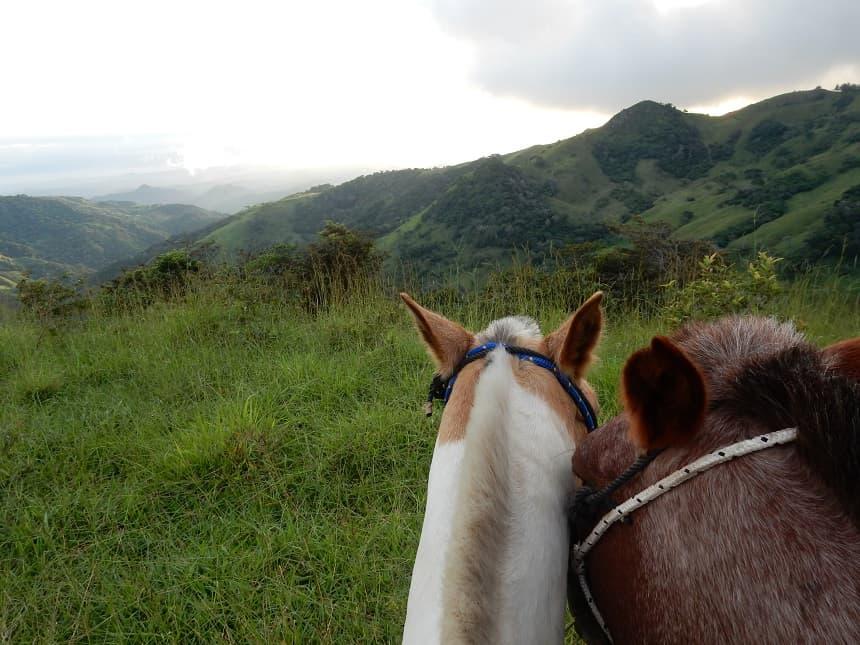 Paardrijden in Monteverde, Costa Rica
