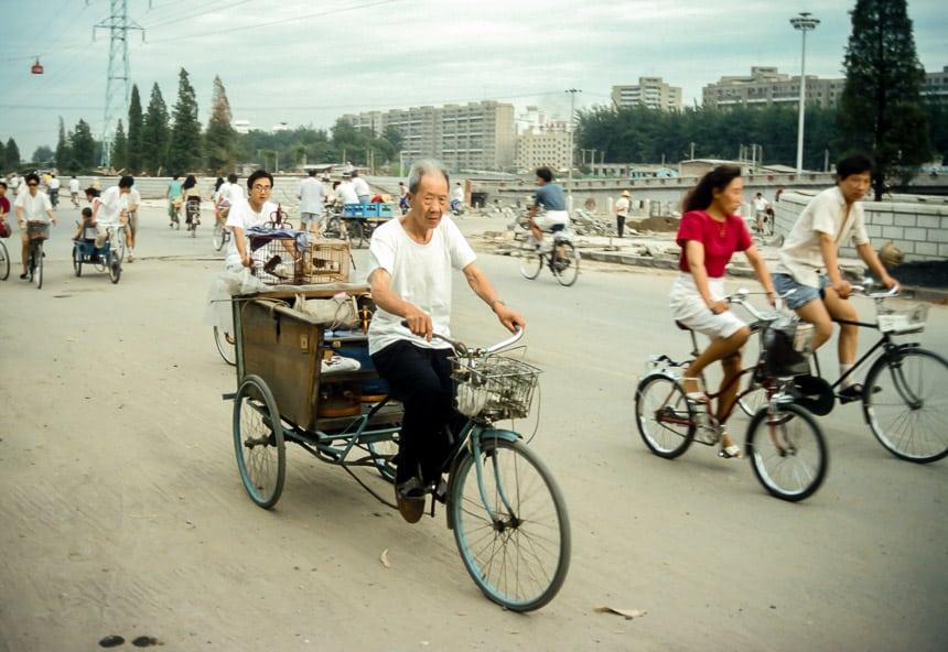 De derde ring van Peking wordt aangelegd.