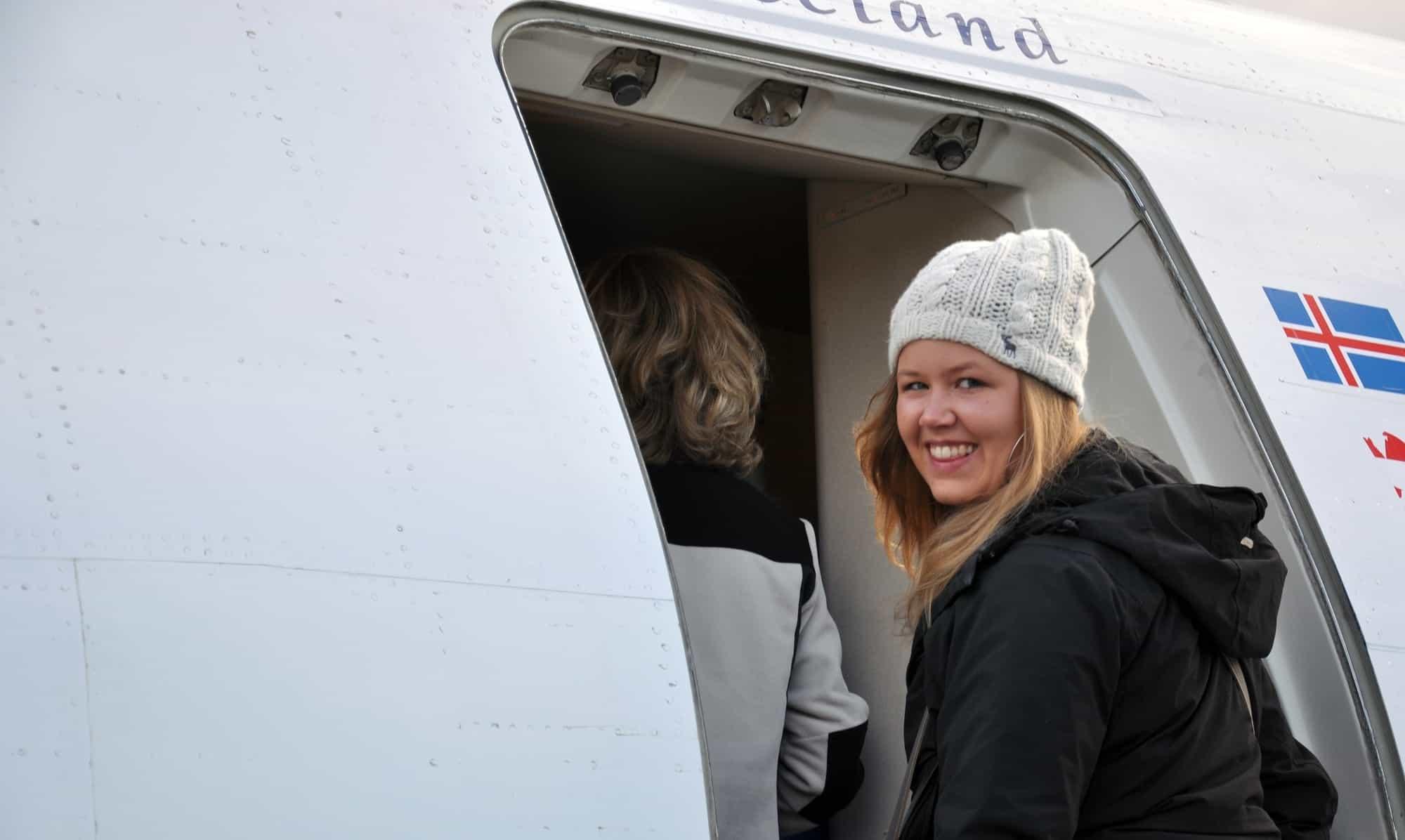 Eline Ruigrok van Icelandair
