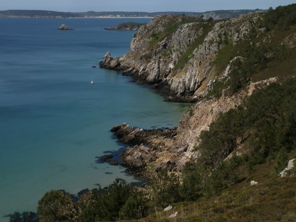 Omdat ik het niet kan laten: nog een uitzicht vanaf de Bretonse kust