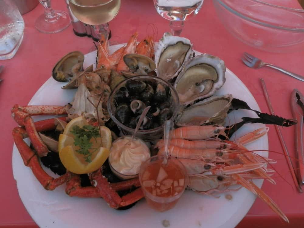 Een echte Bretonse Fruit de Mer