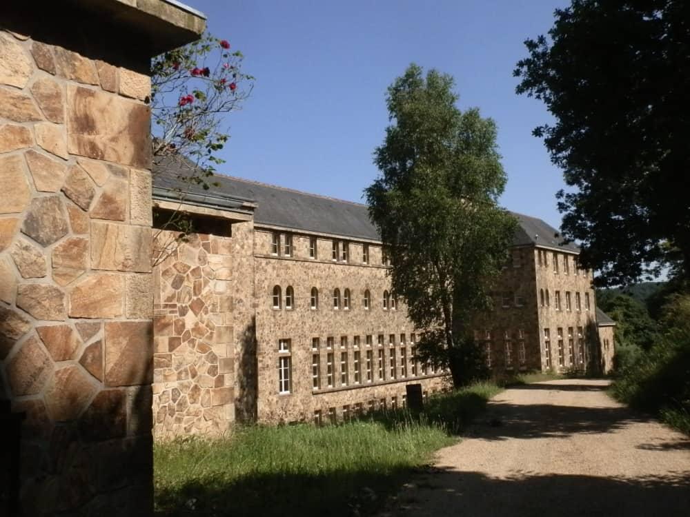 De abdij in Landevennec
