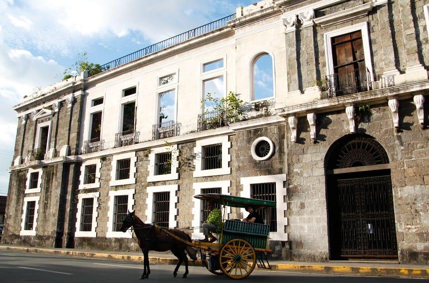 Manilla Intramuros paard en wagen