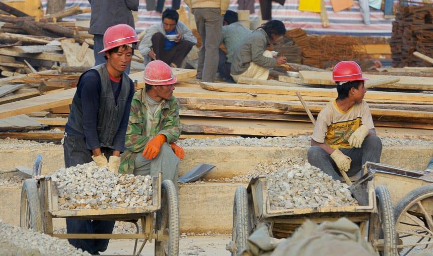 Migrantenwerkers