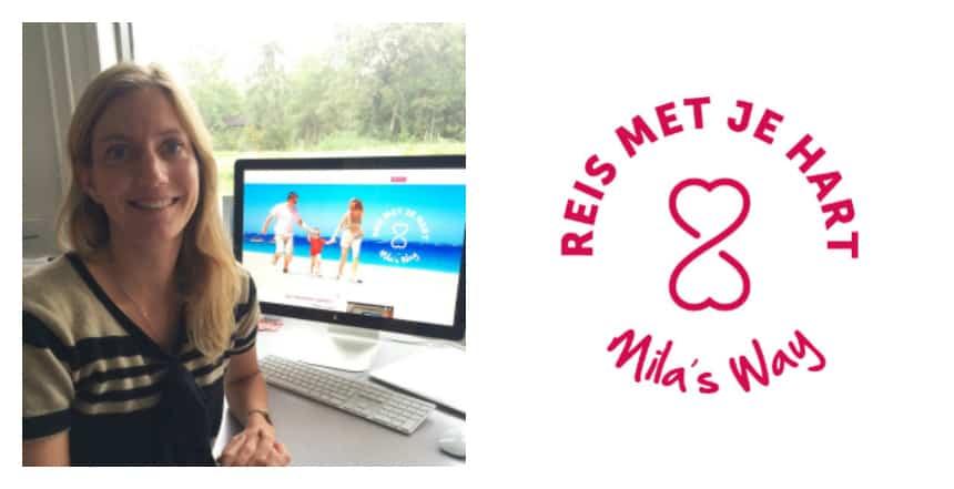 Mila richtte stichting Reis met je Hart op
