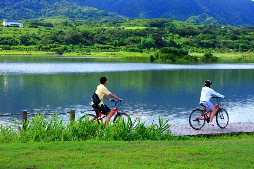 Taiwan per fiets