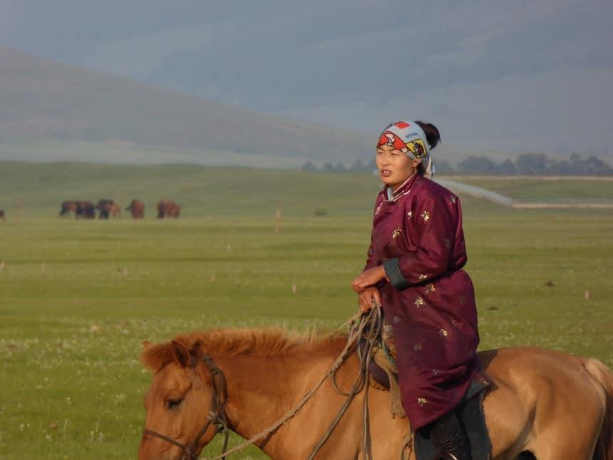 Nomade te paard