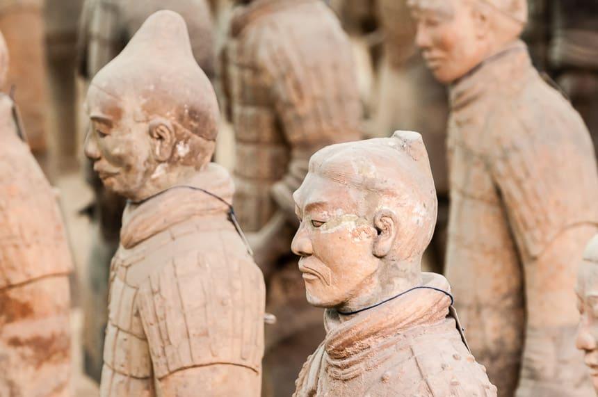 De Terracotta soldaten zijn een van de bekendste attracties van China