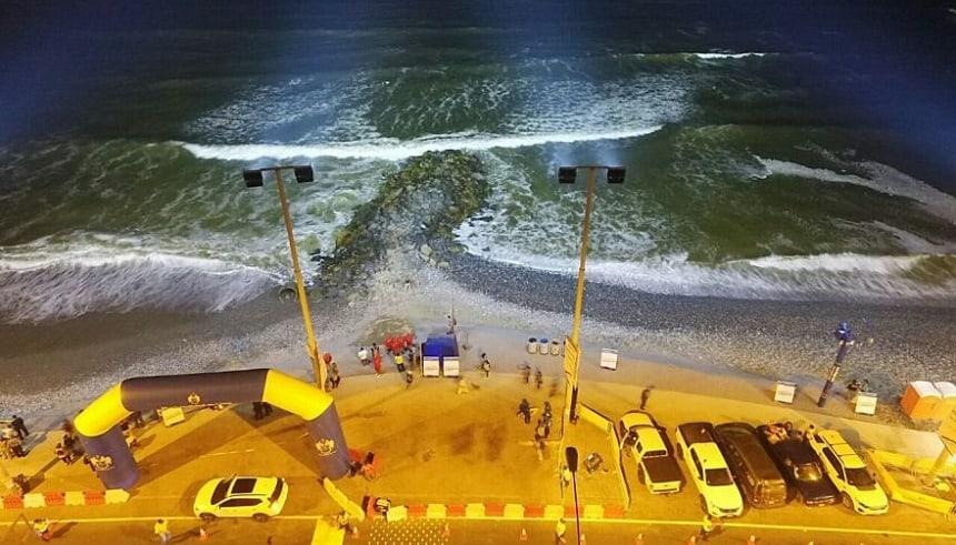 Lima is een van de beste spots ter wereld voor surfen, windsurfen en kitesurfen.