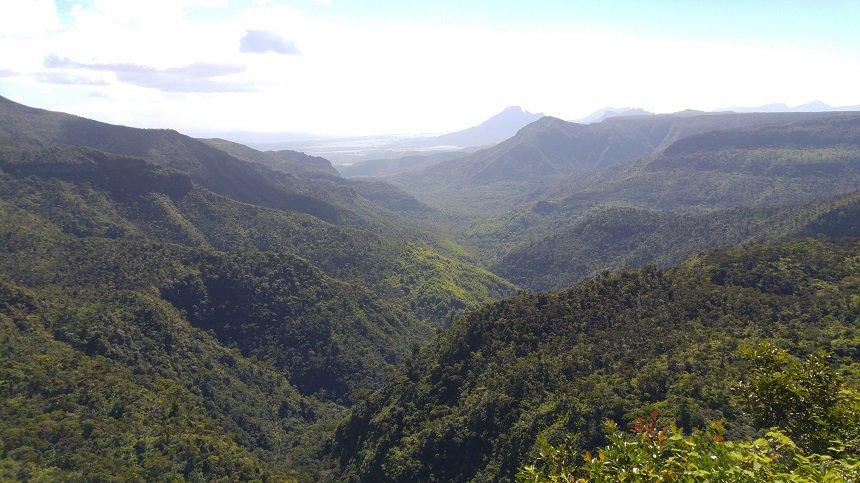 Black River Gorges Nationaal Park op Mauritius