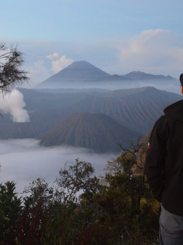 Bromo vulkaan in Indonesië