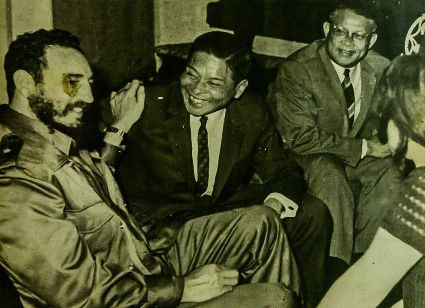 Castro in Laos