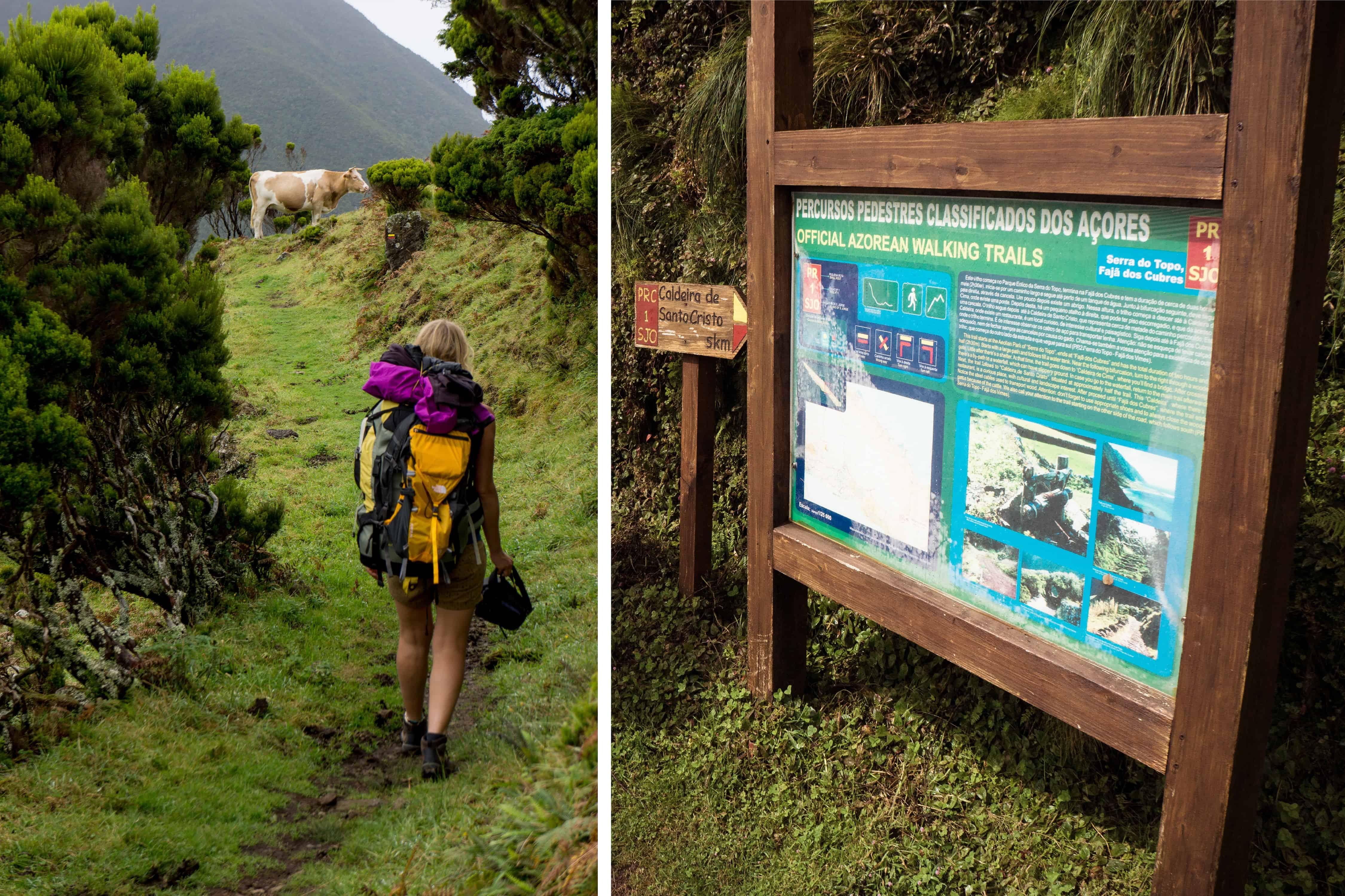 Hike naar Fajã da Caldeira de Santo Cristo