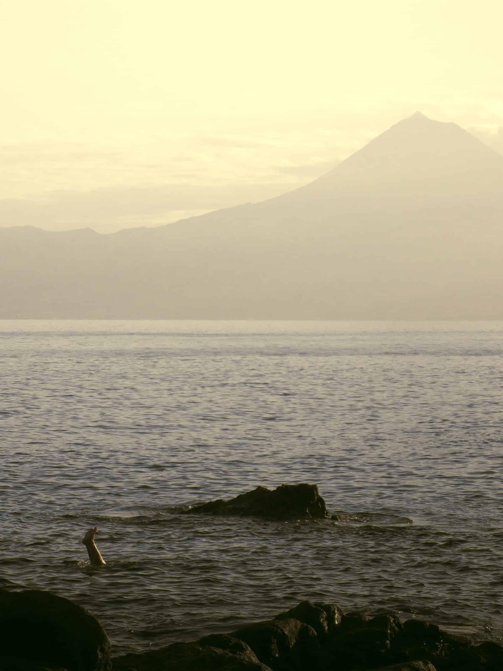 Duik in Atlantische oceaan