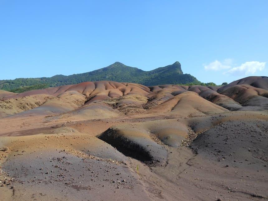 Seven Coloured Earths op Mauritius