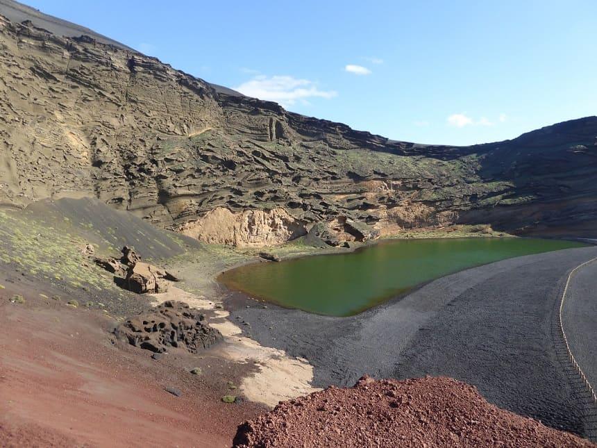 El Golfo Lago Verde Lanzarote