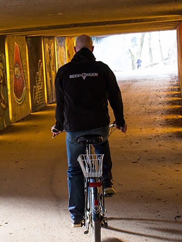 Fietstunnel in München