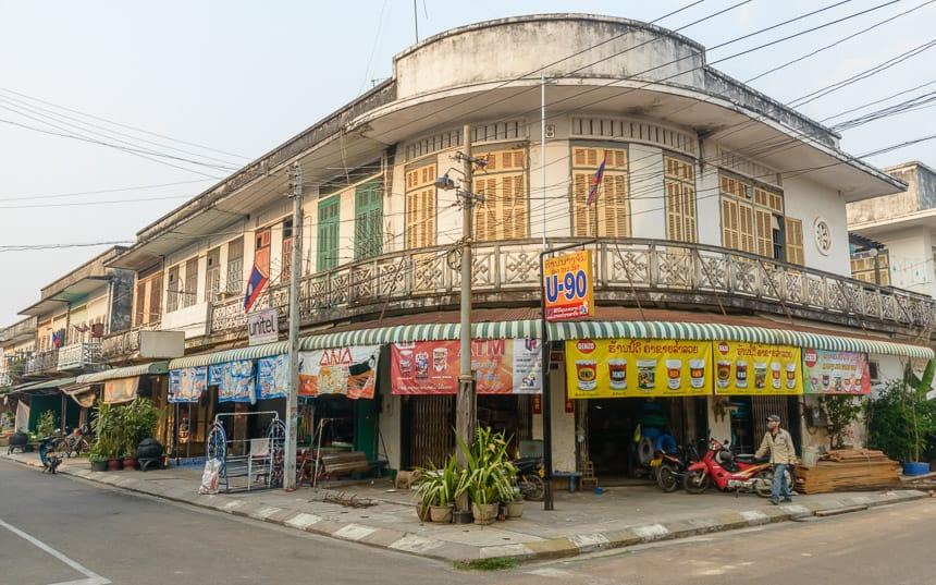 Frans koloniale wijk in Savannaket