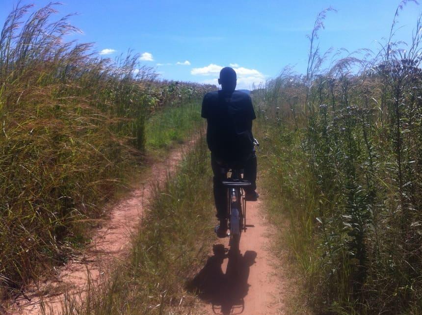 Fietsen in Malawi
