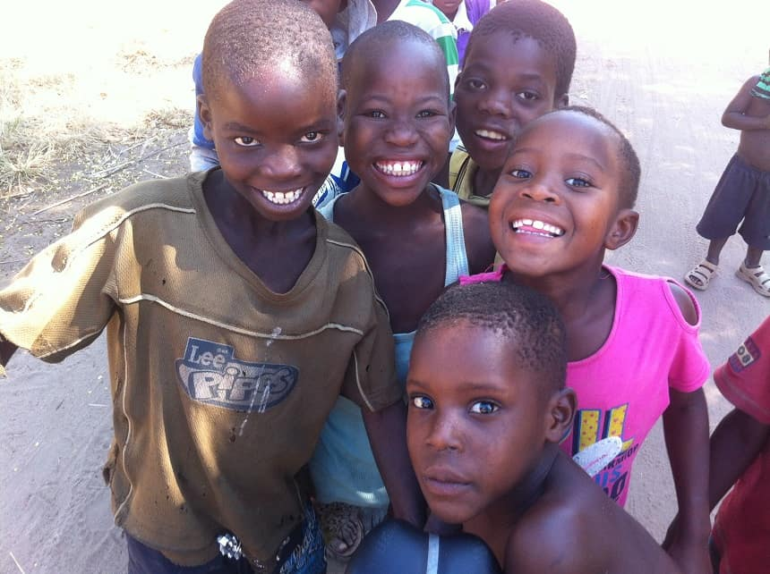 Locals in Malawi