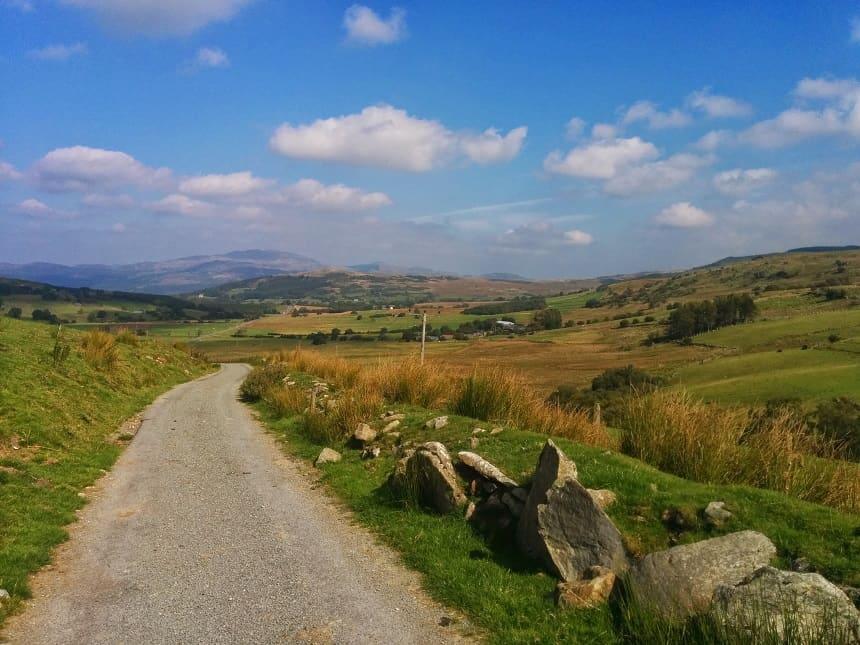 Op de fiets door Wales