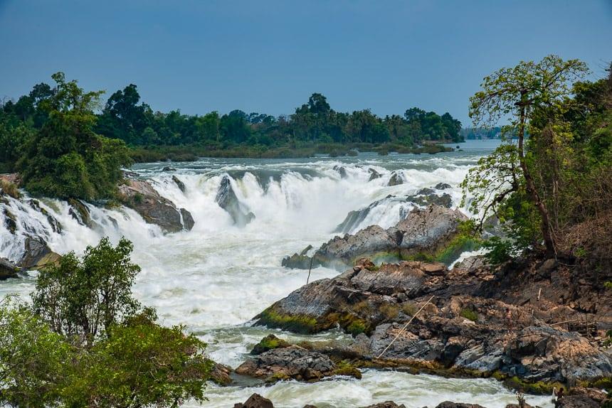 Khone Falls bij Si Phan Don