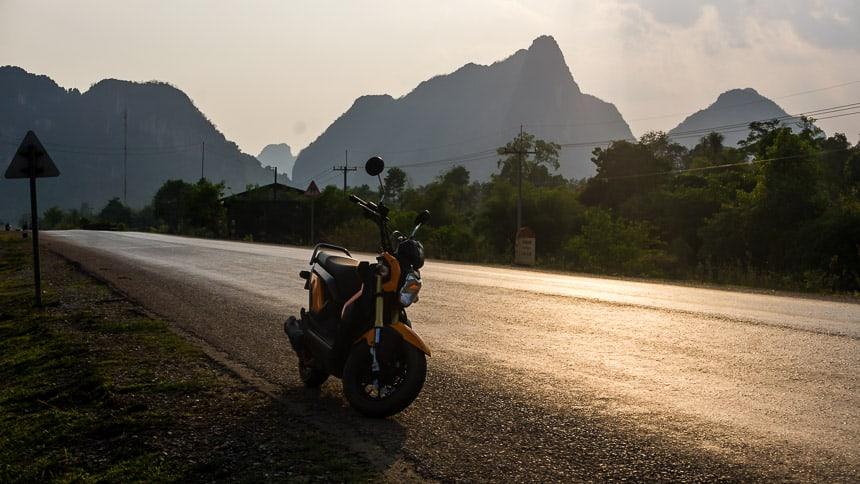 Motor Laos