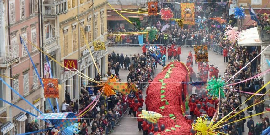 carnavalsoptocht Rijeka
