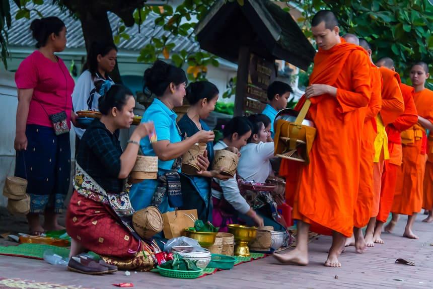 Monniken Laos