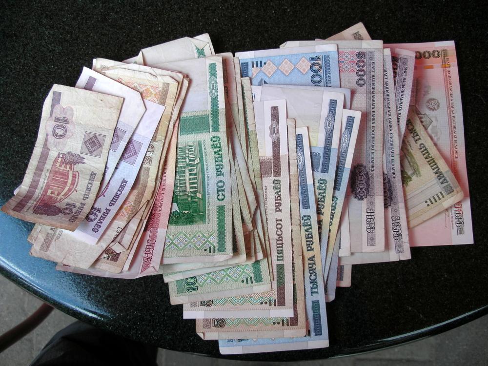 Bankbiljetten in Wit-Rusland