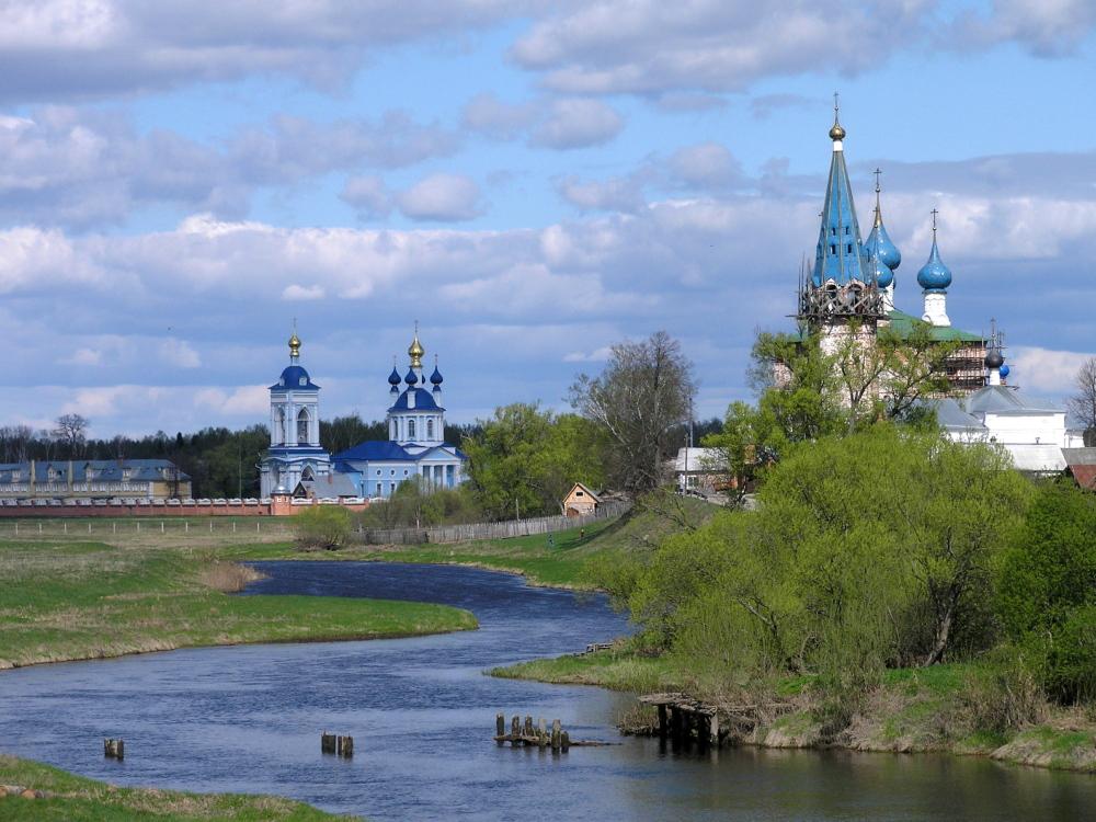 Onderweg over het Russische platteland
