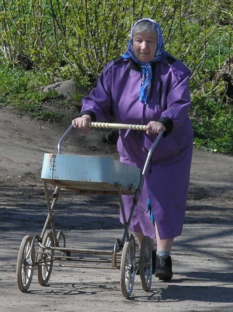 Russische rollator