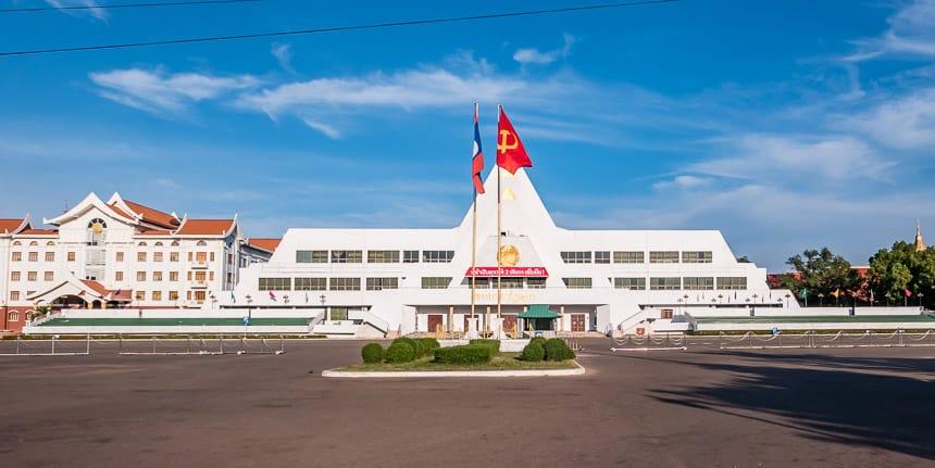 Parlementsgebouw Laos