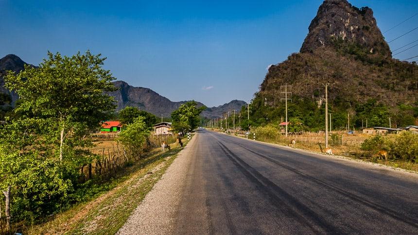 Wegen in Laos