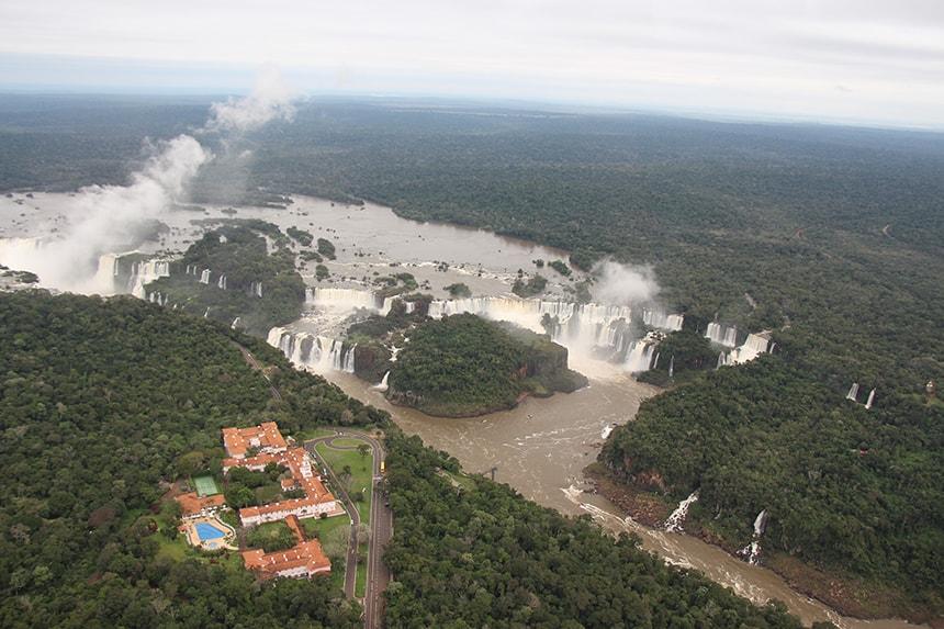 Helikoptervlucht Foz do Iguaçu