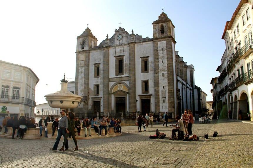 Évora heeft diverse bouwwerken die op de UNESCO Werelderfgoedlijst staan